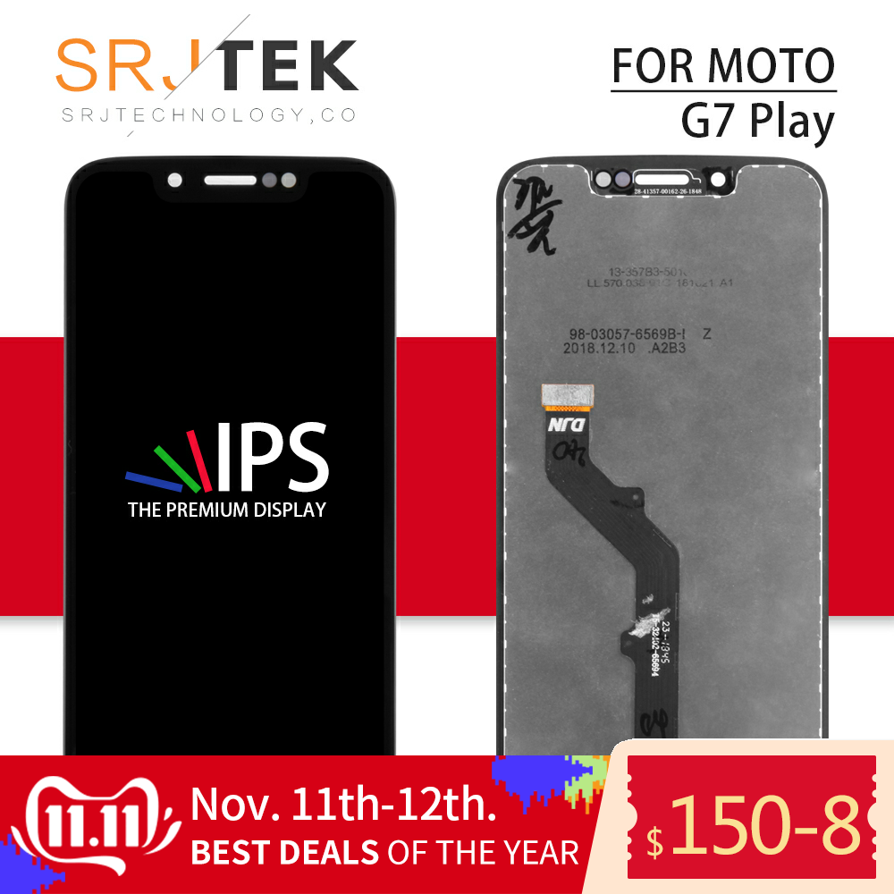 For Motorola Moto G7 Play LCD Display Digitizer Sensor Panel For Moto G7 Play Glass <font><b>XT1952</b></font> Screen Touch Replacement <font><b>Parts</b></font> Lens image