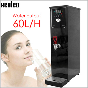 Image 1 - Xeoleo 20L Hot Water dispenser Commercial Hot Water machine 60L/H Black Stainless steel Water boiler for bubble tea shop 3000W