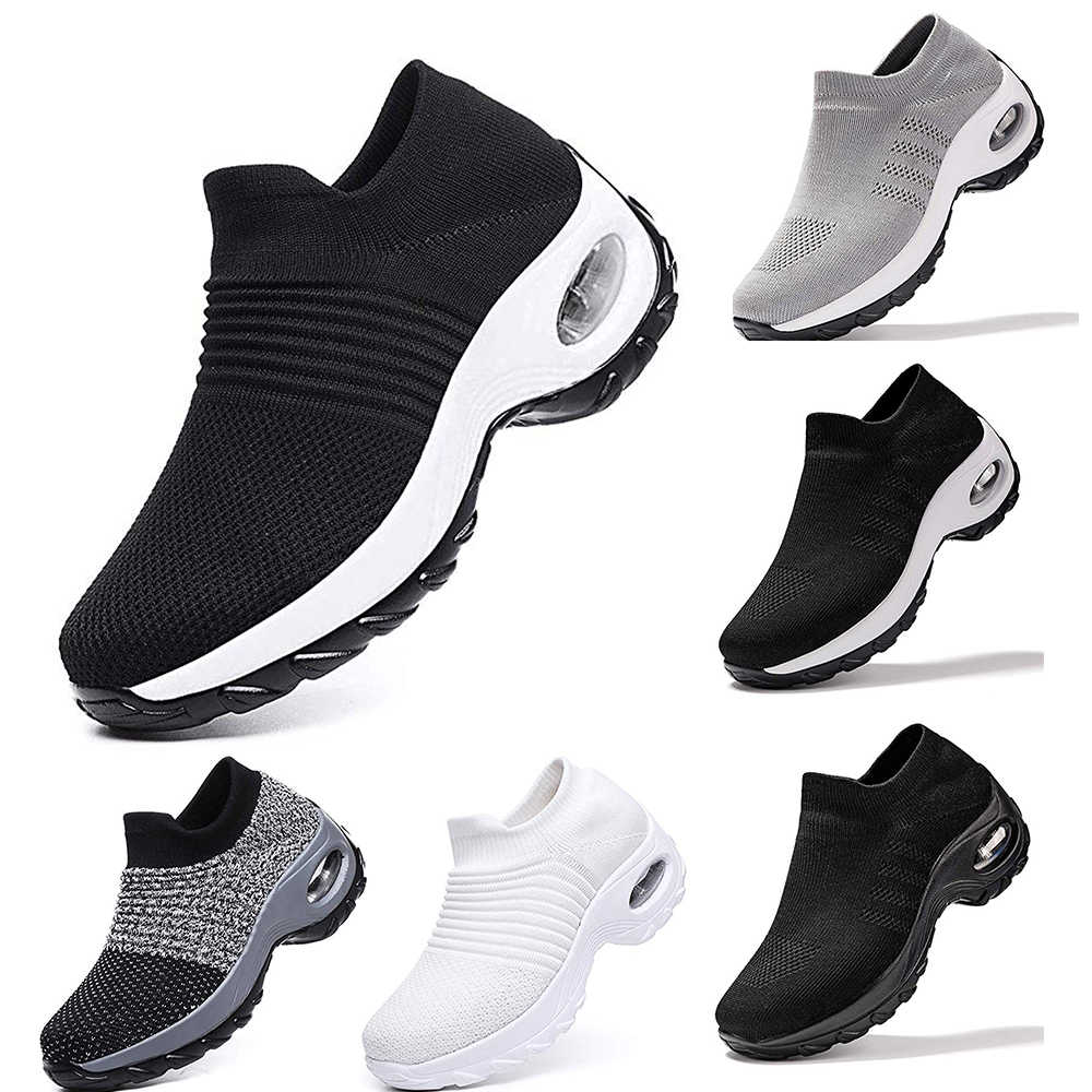 JODIMITTY2020 New Mesh Women Men Outdoor Running Shoes Couples Breathable Soft Athletics Jogging Sneaker