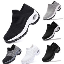 JODIMITTY2020 New Mesh Women Men Outdoor Running Shoes Couples Breathable Soft Athletics Jogging Sneaker(China)