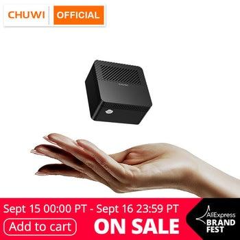 CHUWI LarkBox más pequeño del mundo 4K Mini PC Intel Celeron J4115 Quad Core 6GB RAM 128GB ROM de escritorio de Windows 10 computadora HDMI USB-C