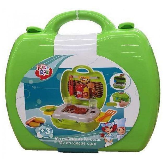 Набор для барбекю в чемоданчике Rik&Rok 16 предметов