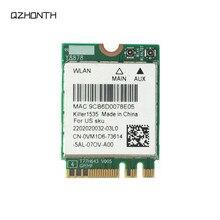 Laptop For Dell Alienware 15 R3 17 R4 Killer 1535 QCNFA364A Wireless Bluetooth 4.1 WiFi Card VM1D6