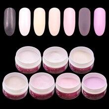 Многофункциональный акриловый порошок, система Dip порошка, набор акриловый жидкий полимер, полистроительный кристалл, набор для дизайна ногтей, прозрачный розовый