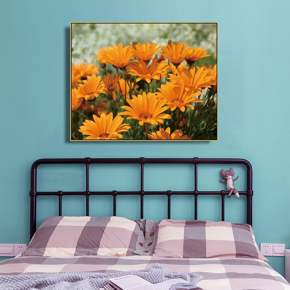 Laeacco Canvas Painting Nordic Decor Flowers Posters And Prints Wall Art Picture For Living Room Bedroom Home Decoration