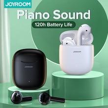 Joyroom T13 TWS kablosuz kulaklık Bluetooth 5.0 IPX7 su geçirmez kulaklık HD Stereo dahili Mic Xiaomi iPhone için piyano ses