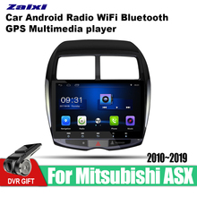 ZaiXi Android Car GPS Multimedia Player For Mitsubishi ASX 2010~2019 car Navigation radio Video Audio WiFi Bluetooth