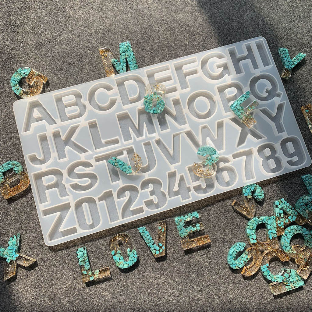DIY epoxy resin mold Silicone mirror mold Clay mold Accessories mold Crystal Epoxy ab mold,jewelary mold Model body mold