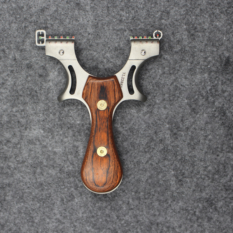 Powerful Slingshot Hunting Shot 1Pcs Slingshot Rubber Band Shooting Fishing Wood Slingshot Shooting Hunting Slingshot