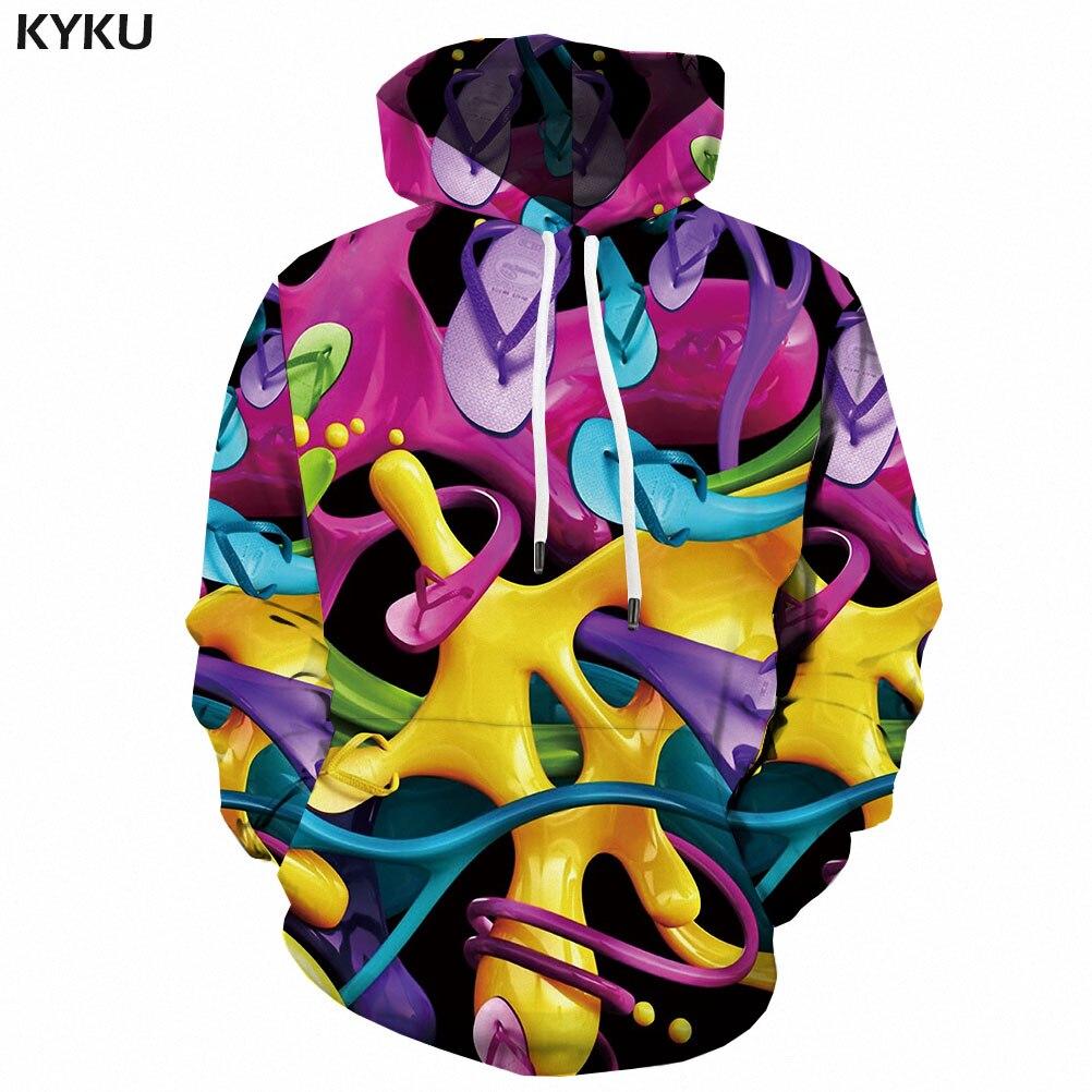 3d Hoodies Colorful Sweatshirts men Abstract Hoodie Print Psychedelic Hooded Casual Art Hoody Anime 3d Printed Mens Clothing