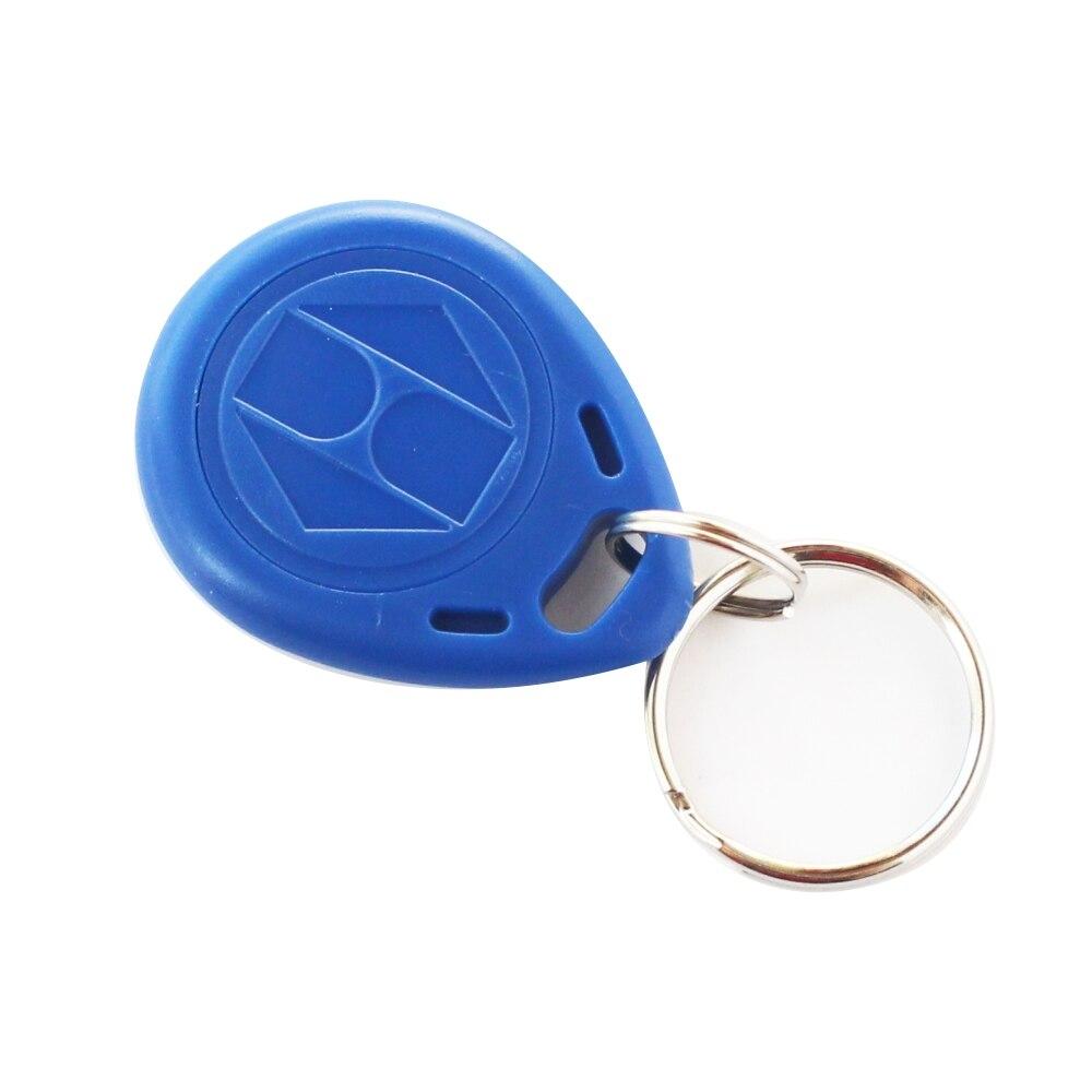 Disposable Em4100 125khz Rfid Tag Card Keychain Key Read Only 125khz Proximity Keyfobs Rfid Tags Card Badge Keyfob RFID Tags