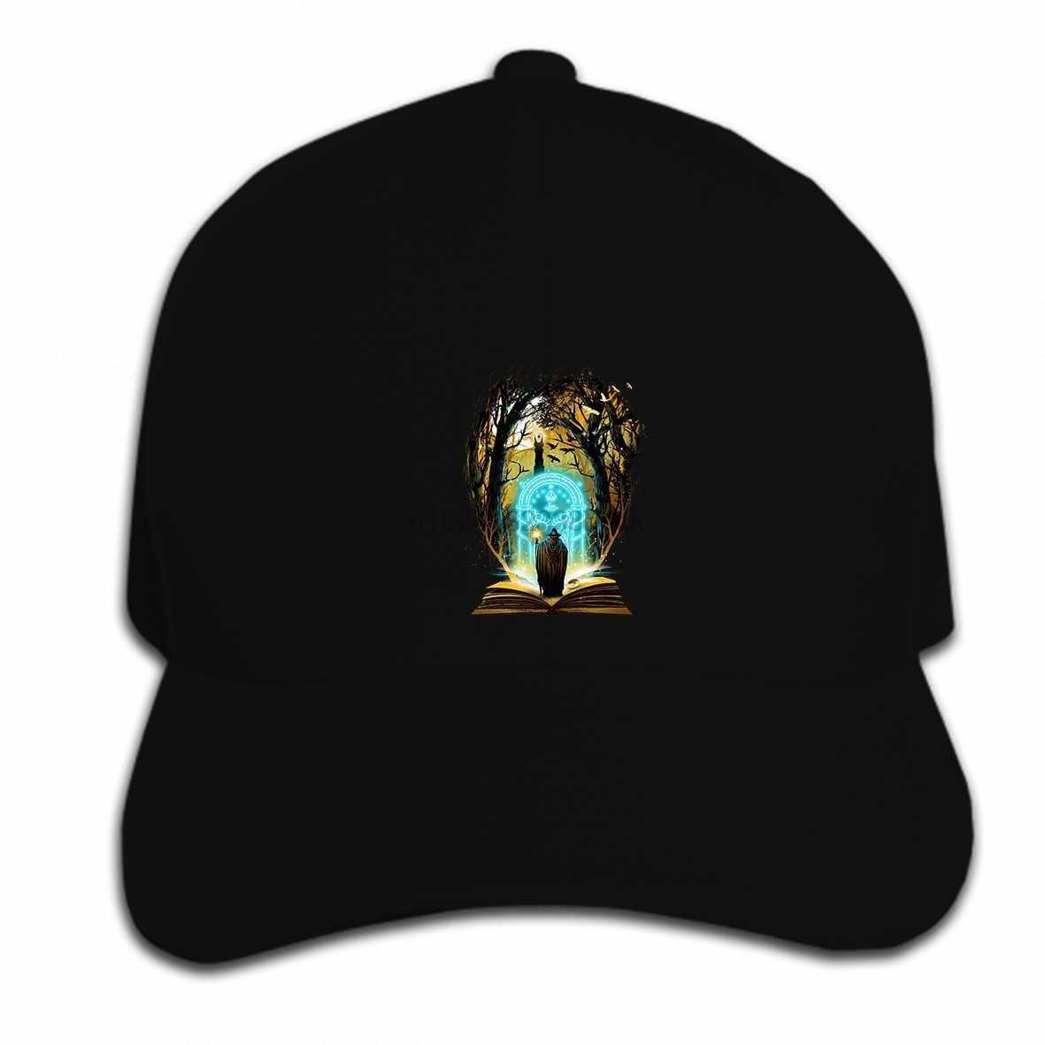 Berretto Da Baseball di Hip Hop Degli Uomini di stampa Personalizzata Libro di Magia e Le Avventure di Il Signore Degli Anelli Delle Donne Cappello berretto con visiera