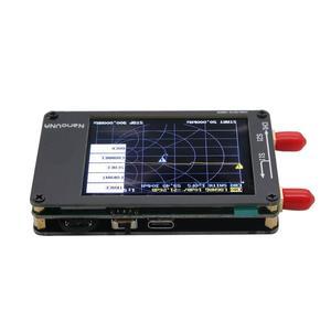 Image 2 - TZT NanoVNA Vector Analyzer 50KHz 900MHz HF VHF UHF Antenna Analyzer 2.8 inch LCD Display with Battery