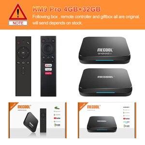 Image 5 - MECOOL KM9 Pro Google certifié Androidtv Android10.0 4GB 32GB Amlogic S905X2 9.0 KM3 ATV 4GB 64GB 4K double Wifi Smart TV box
