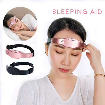 Electric Head Massager Sleep Monitor Migraine Relief Massager Insomnia Therapy Release Stress Sleep Therapy Device Sleeping Aid цена 2017