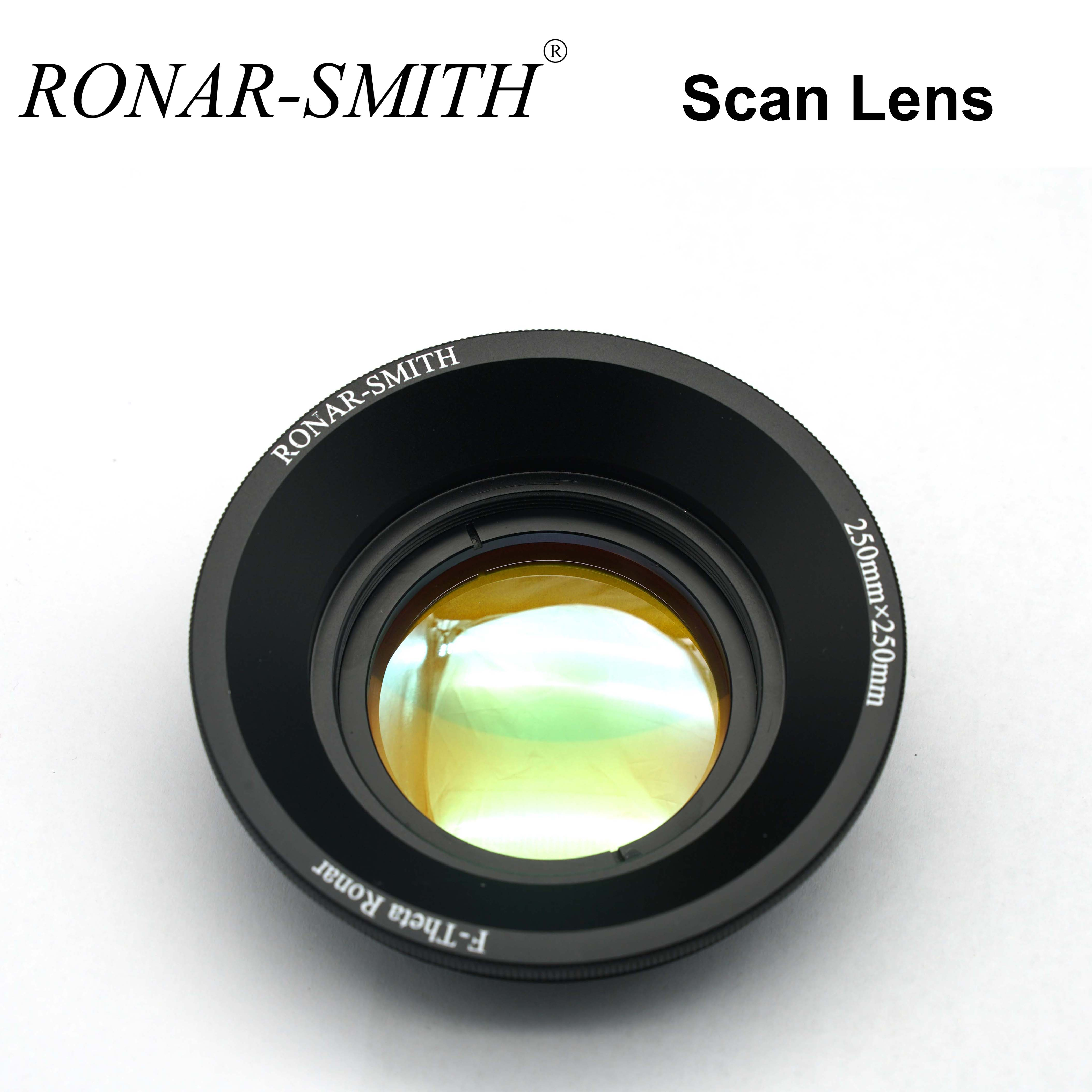 RONAR-SMITH WELLENLÄNGE OPEX CO2 Scan Lesn F-theta Objektiv 10600nm 10,6-70-100 10,6-110-150 10,6-140-200 10,6-175-250 10,6-215-300 image