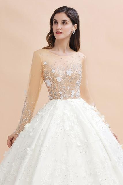 Купить горячая новинка настоящие длинные свадебные платья с хрустальными картинки