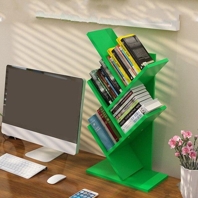 Bookcase Tree Shaped Display Shelf 5