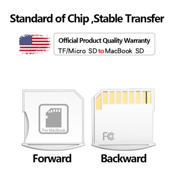 For Macbook Air 13 inch and MacBook Pro 15-inch 32GB 64GB 128GB micro sd adapter Memory Portable Converter Adapter adapter macb