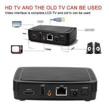 Akıllı M258 H.265 dijital TV kutusu IPTV akıllı Set top Box dahili MPEG dekoder yeni