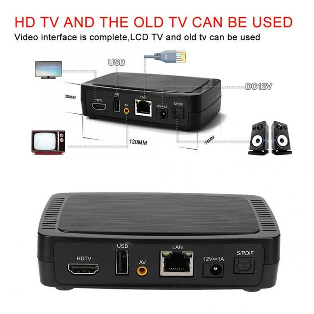 Intelligent M258 H.265 Digital TV Box IPTV Smart Set top Box Built in MPEG Decoder New
