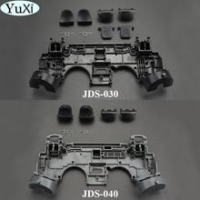 YuXi 2 ensemble caoutchouc remplacement Silicone adhésif conducteur pavé tactile claviers pour Sony PS4 pour PlayStation DualShock 4 contrôleur