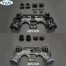 YuXi R1 L1 Key Holder Support Inner Internal Frame Stand+ L2 R2 Trigger Buttons Springs For PS4 Pro JDM JDS 040 030 Controller