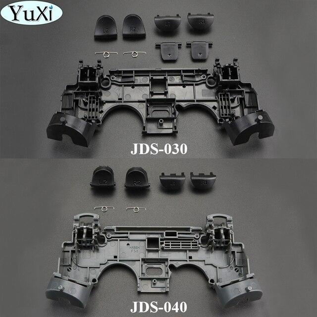 Yuxi 2 Set Rubber Vervanging Siliconen Geleidende Lijm Knop Pad Toetsenborden Voor Sony PS4 Voor Playstation Dualshock 4 Controller