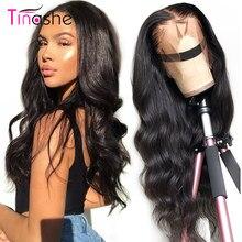 Tinashe-pelucas de cabello humano de encaje completo, prearrancadas, con pelo de bebé, Remy, brasileño, sin pegamento, peluca de cuerpo ondulado
