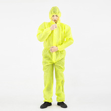 Waterproof Anti-Acid Splash Chemical Protective Clothing One-piece Dustproof Clothes Paint Chemical Protective Cloth
