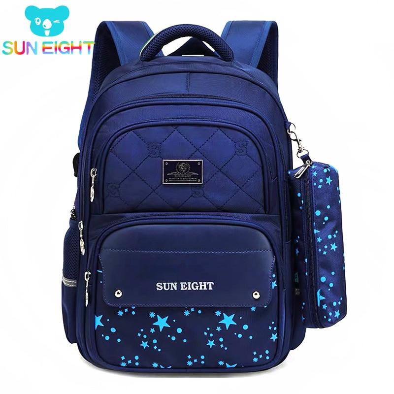 Zippers Large Capacity Boy School Backpacks School Bags For boys Children Backpack Nylon Girls Schoolbags