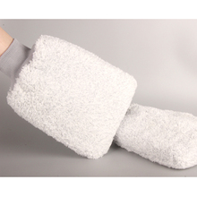 1pcs New Professional Car Wash Glove Microfiber Thick Mitt Cleaning Cloth Equipment Gray Tool Gloves Accessory