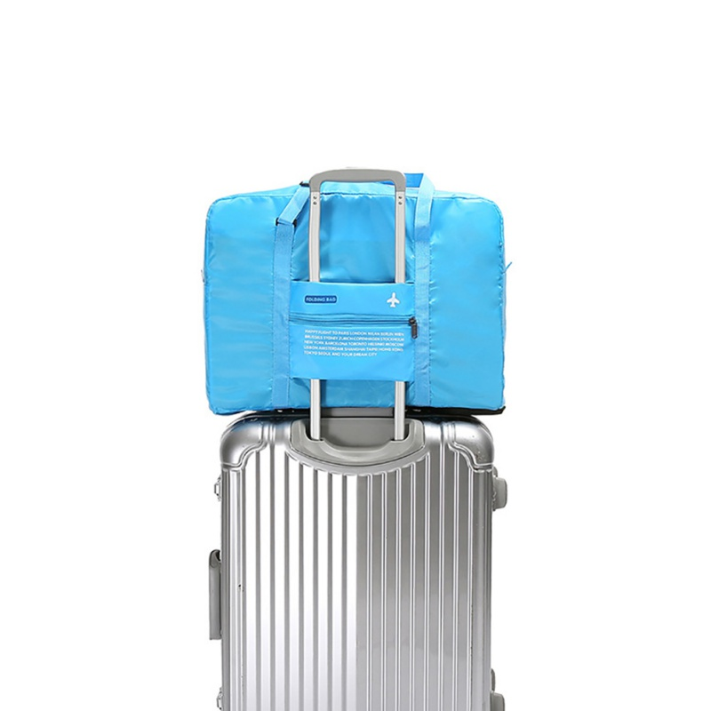 Travel Luggage Storage Bag Sleeve For Suitcase Trolley Handles Duffel Shoulder Tote Bag