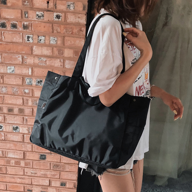 2020 New Casual Women Handbags Waterproof Nylon Shoulder Bag Brand Design High Quality Wear-resistant Big Tote Messenger Bags