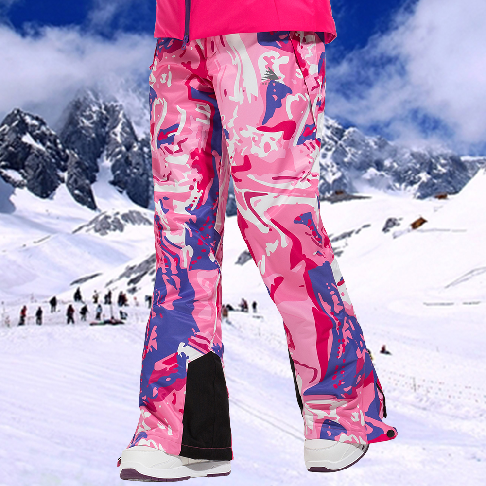 VECTOR Women Skiing Pants Waterproof Snow Trousers Outdoor Winter Sports Warm Snowboard Pants Female Winter Ski Pants HXF70016