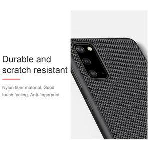 Image 5 - サムスンギャラクシー For Samsung Galaxy S20 Ultra / S20+ Plus 5G プラス グラムケース Nillkin 質感ビジネスナイロン光カバーケースサムスン For Samsung S20