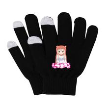 Anime Himouto! Umaru-chan rękawiczki kobieta mężczyzna palec rękawiczki bawełniane ciepłe rękawiczki antypoślizgowe rękawiczki do ekranu dotykowego oddychaj swobodnie rękawiczki tanie tanio Unisex COTTON Dla dorosłych Cartoon Nadgarstek Moda SHOUTAO