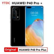 Оригинальный HUAWEI P40 Pro + плюс 8 Гб 256 Kirin 990 5G SoC телефон 4200mAn 5000MP 50 quad 50x цифровой зоопарка