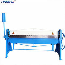 HARSLE High Quality Common Manual Folding Machine for Duct Production Equipment
