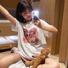 Женская готическая укороченная футболка kpop y2k черные футболки