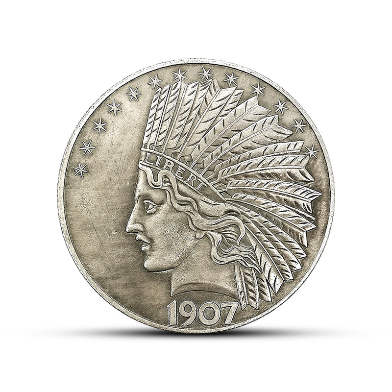 1851 United States of America Indian Head Portrait,commemorative Coin Collection
