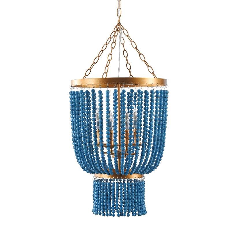 Green turquoise chandeliers golden lustre elegant metal hanging light bedroom beautiful princess chandelier in kitchen nurser
