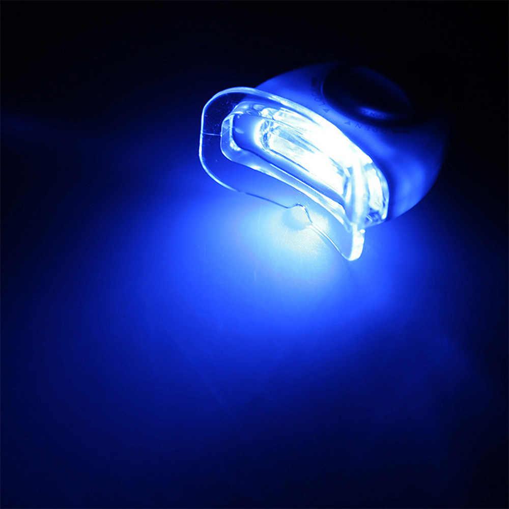 블루 LED 치아 미백 가속기 자외선 치과 레이저 램프 라이트 도구 치아 화장품 레이저 새로운 여성 미용 건강