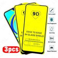 Protector de pantalla de vidrio templado para móvil, película protectora de cobertura completa para Xiaomi Redmi Note 9, 8, 7 Pro, 9S, 8T, 10, 8, 7, 7A, 9, 9A, Camare