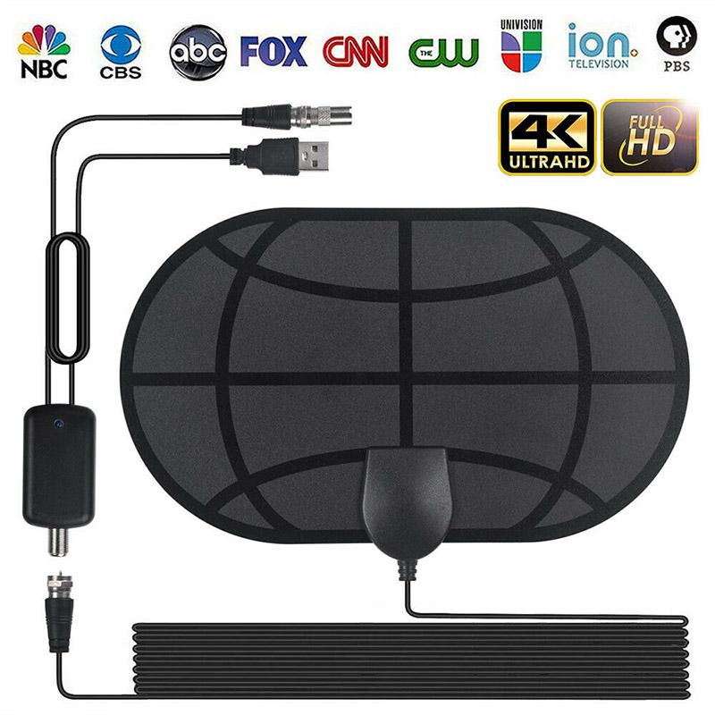 980Mile Range Antenna TV Digital HD 4K Antena Digital Indoor HDTV 1080P HSJ-19