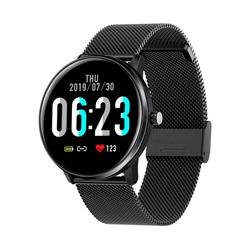 MX6 full-screen touch smart bracelet 1.3 inch heart rate blood pressure monitoring real-time weather IP68 waterproof unisex