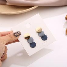 2020 новые винтажные серьги клипсы для женщин заявление геометрические