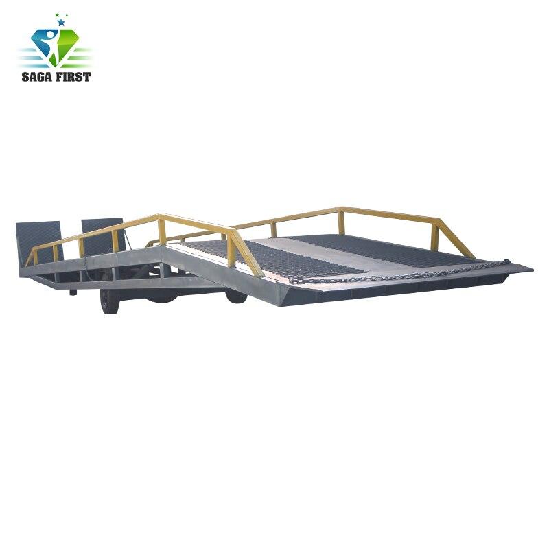 Pont de plate-forme de chargement Mobile Transportable robuste pour conteneur