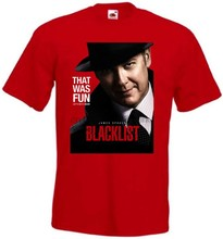 Blacklist TV Series v8 T-shirt red movie poster all sizes S'''5XL(China)