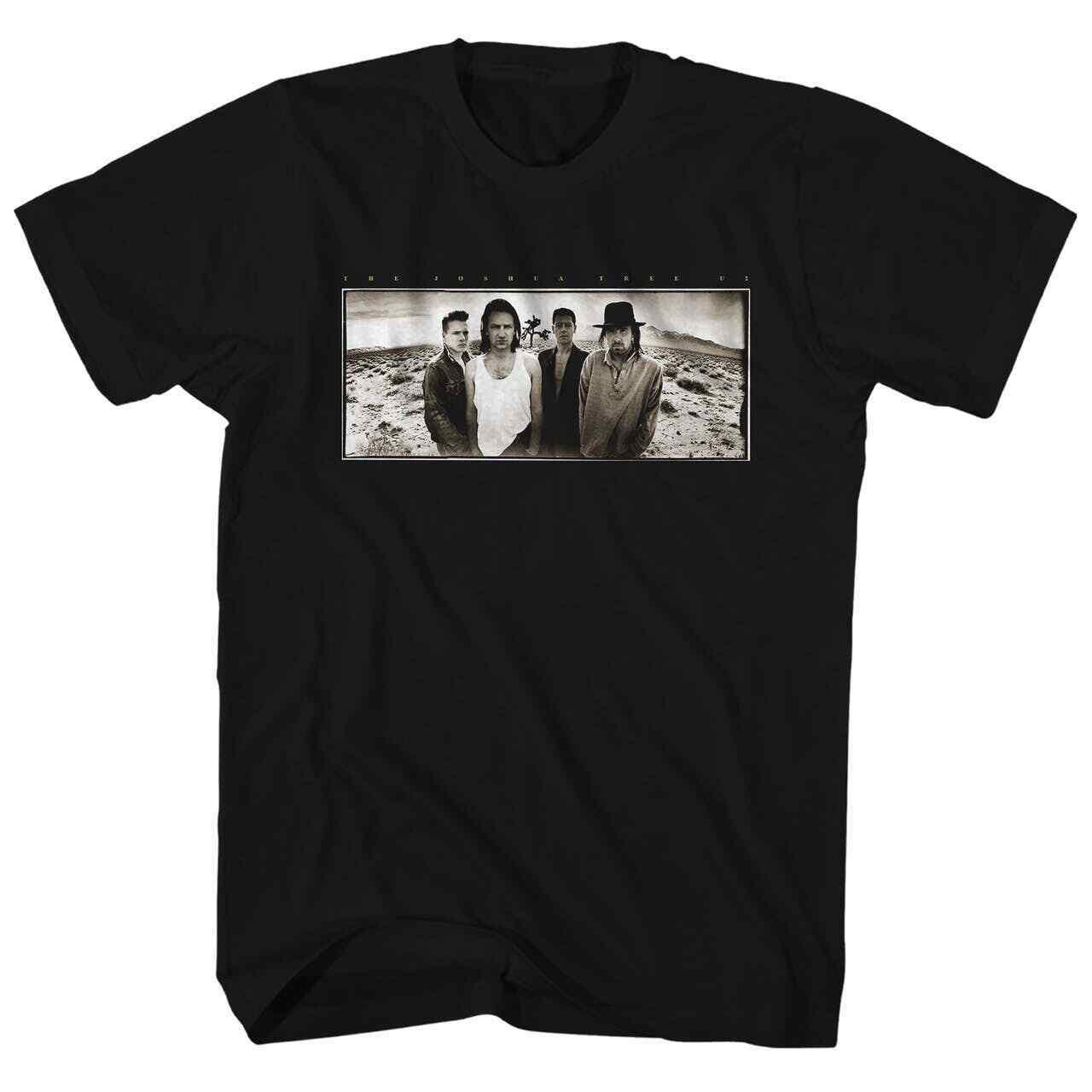 U2 футболка с изображением Джошуа дерева бесплатная доставка